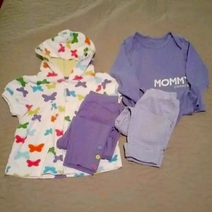 Baby Girl Outfits Size 12 months
